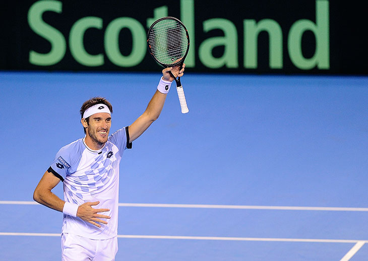 Argentina elimina a Gran Bretaña y va a la final — Copa Davis