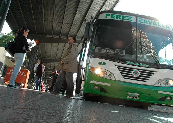 Aumenta el transporte interurbano casi en un 20%