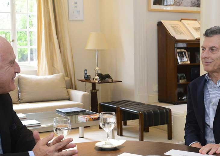 Macri evaluó con Lifschitz la acción de fuerzas federales en Santa Fe
