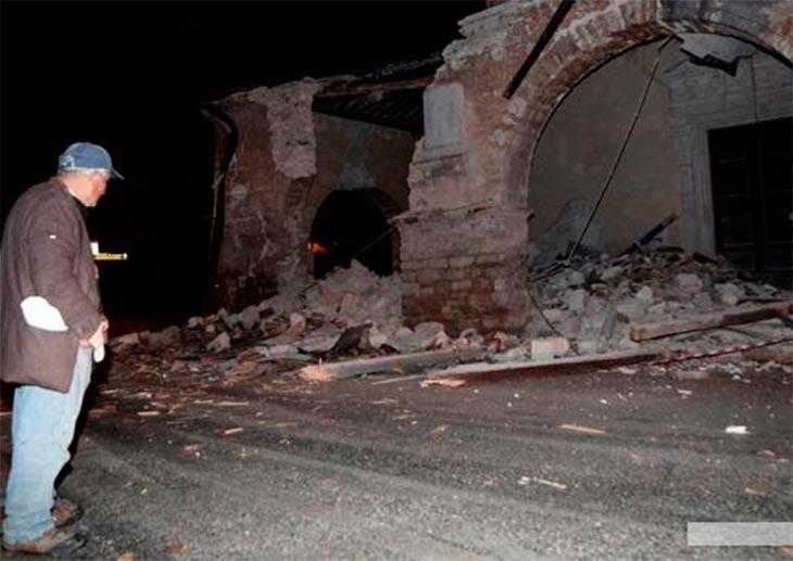 Italia sigue temblando: más de 1.100 réplicas y nuevos derrumbes