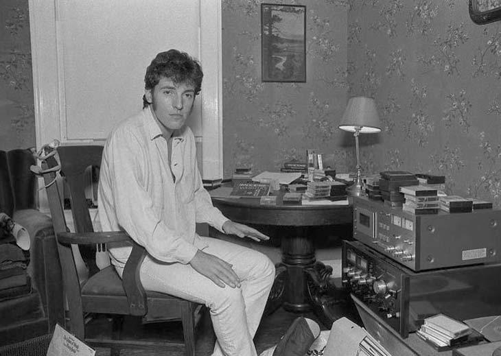 Springsteen cuenta algunas de las depresiones que sufre desde hace mucho tiempo.