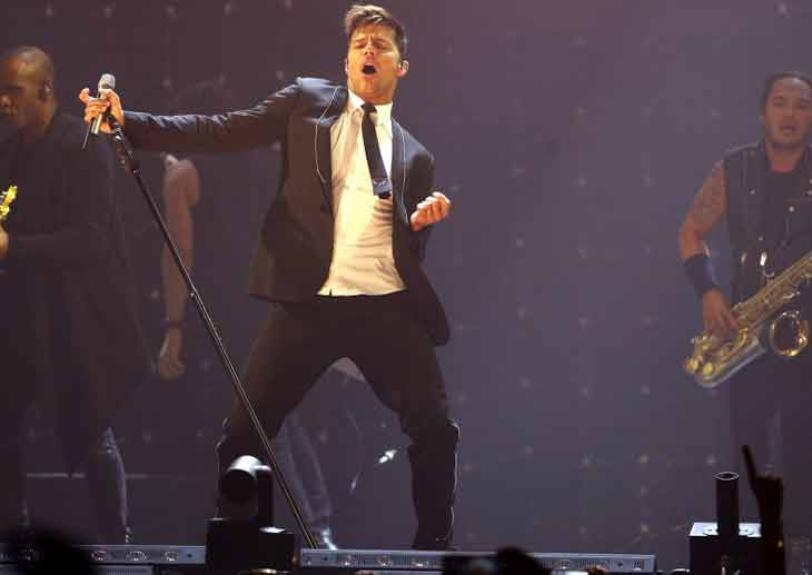 Rumoran que Ricky Martin ya se casó