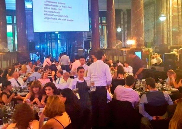 Masiva intoxicación en una cena de la Universidad de Rosario