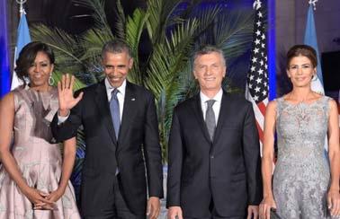 Con Macri, Obama se animo a venir.