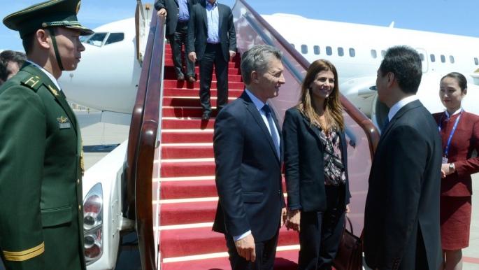 Macri comienza su gira por Oriente