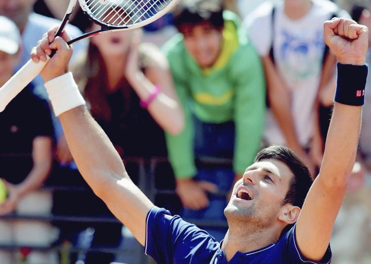 Finalmente, Del Potro no pudo con Djokovic en Roma