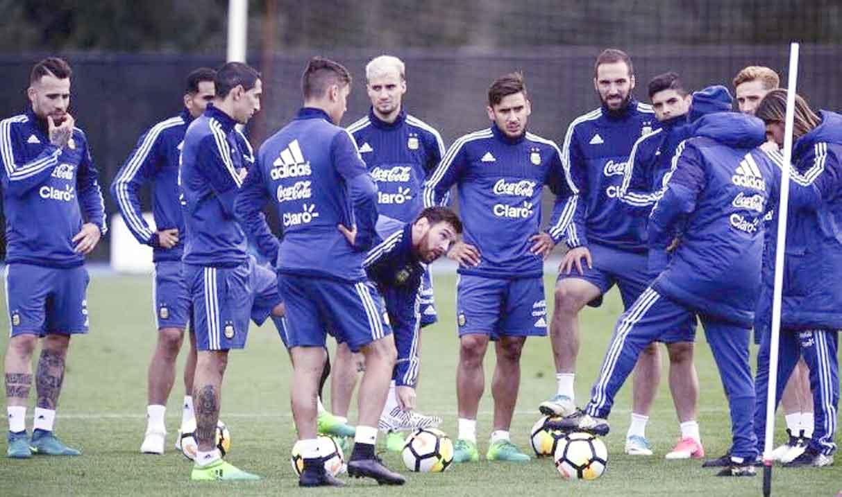 La Selección ya se instaló en Singapur sin Messi, Higuaín y Otamendi