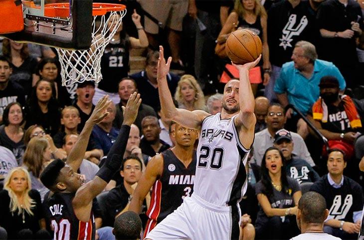 ¡Sigue la magia! Ginóbili jugaría un año más en la NBA