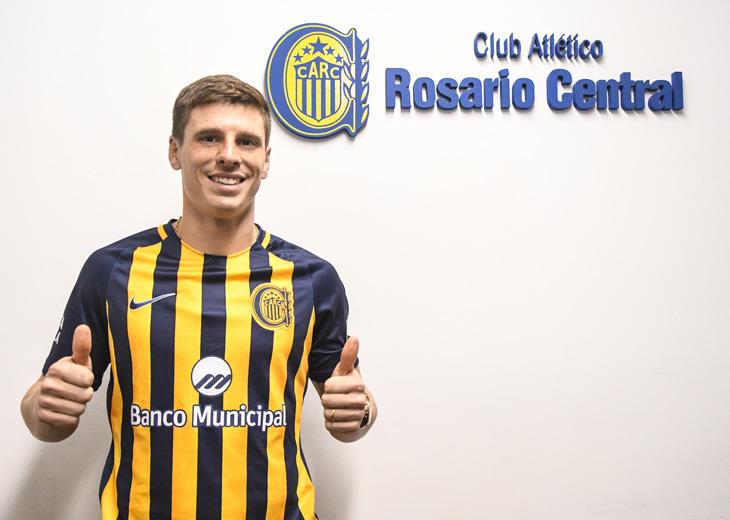 Santiago Romero fue presentado en Rosario Central