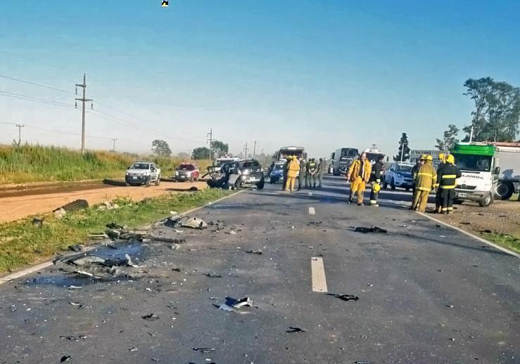 Fatal accidente en Sunchales: cuatro muertos en la ruta 34