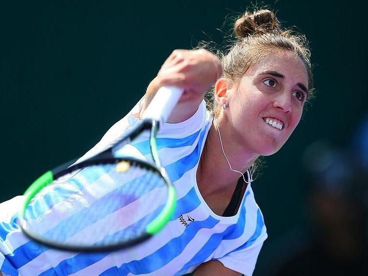 Catalina Pella aseguró la primera victoria de Argentina — Fed Cup