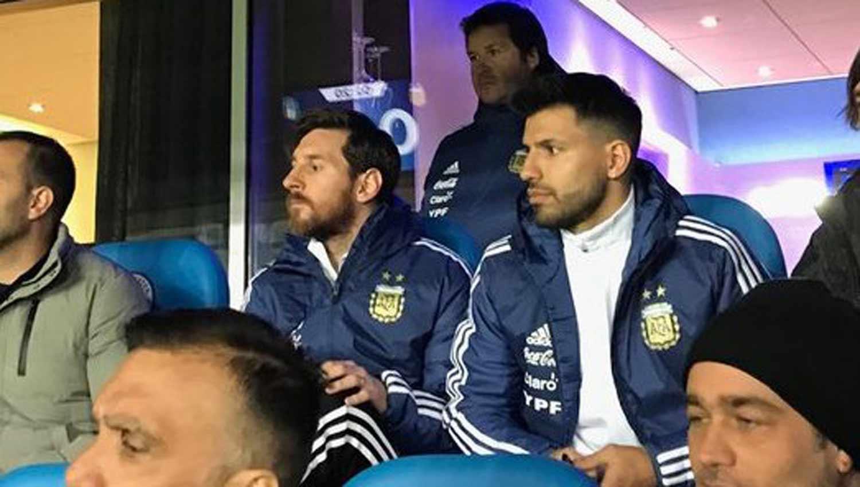 Argentina libera a Agüero y no jugará contra Italia y España