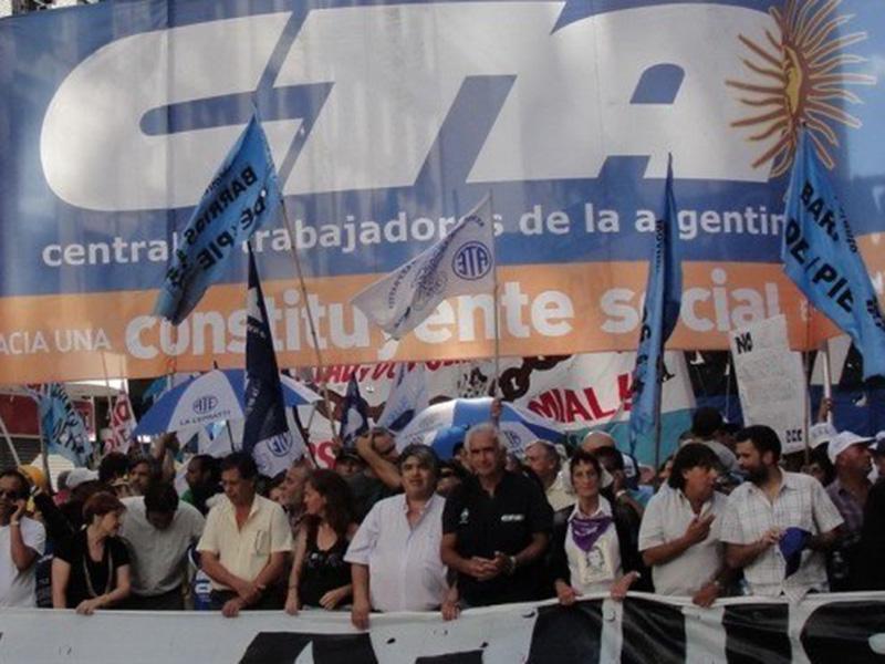 Resultado de imagen de imagenes de manifestaciones de la cta autonoma en rosario