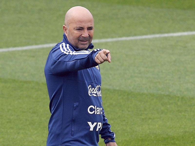 La hora decisiva para definir el futuro de Jorge Sampaoli — Selección argentina