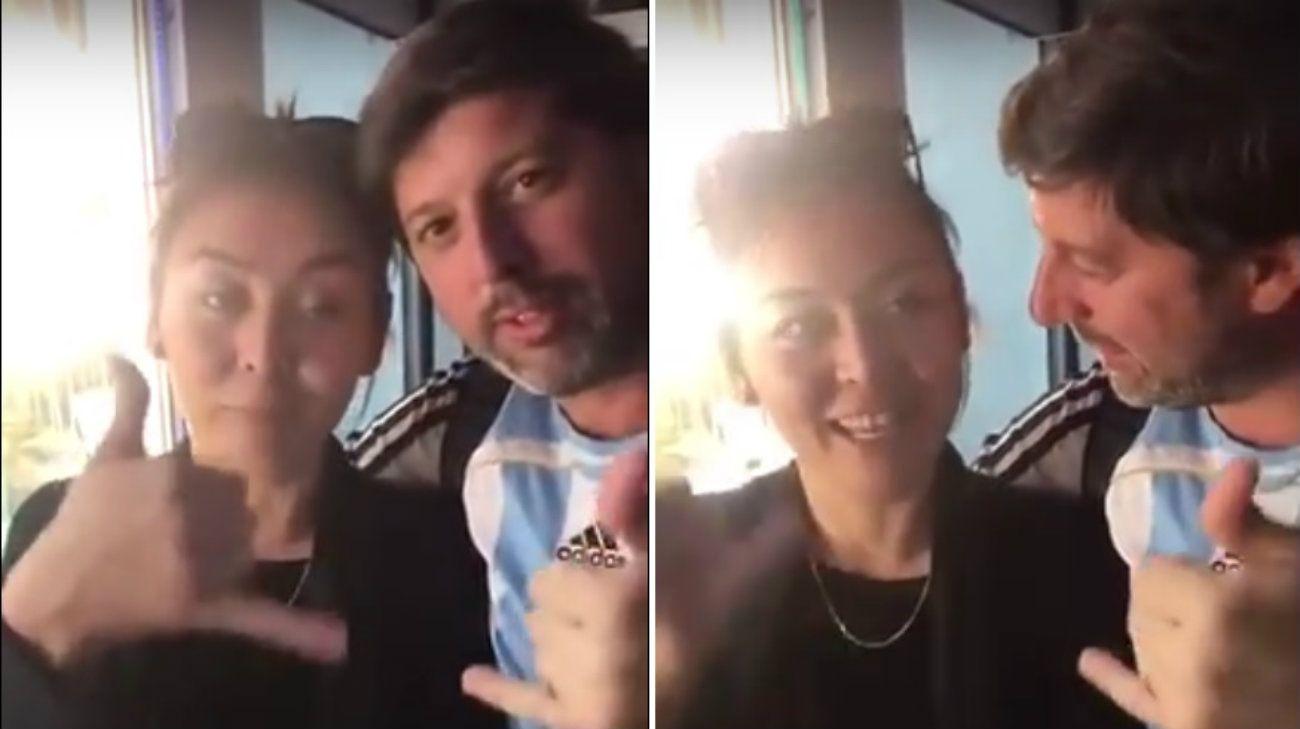 Argentino engaña a rusa para filmarla diciendo obscenidades y es castigado