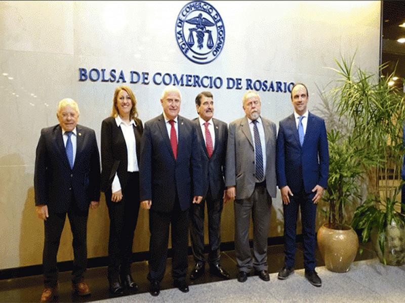 Resultado de imagen para 134° aniversario de la Bolsa de Comercio de Rosario,