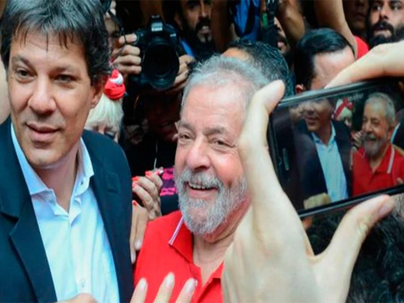 Lula inscribirá su candidatura para las presidenciales en Brasil