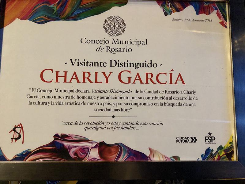 Espectáculos: Aseguran que Charly García