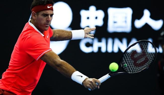 Del Potro fue demoledor y llegó a las semifinales en China