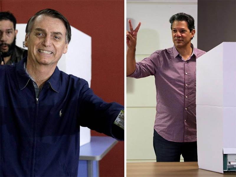 Haddad, obligado a conquistar la abstención para evitar la victoria de Bolsonaro