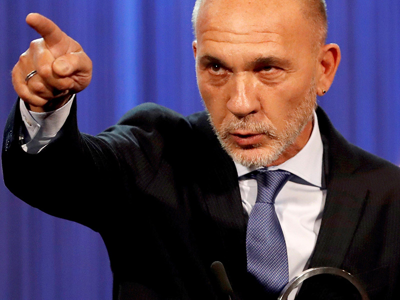 Las duras declaraciones de Darío Grandinetti contra el Gobierno