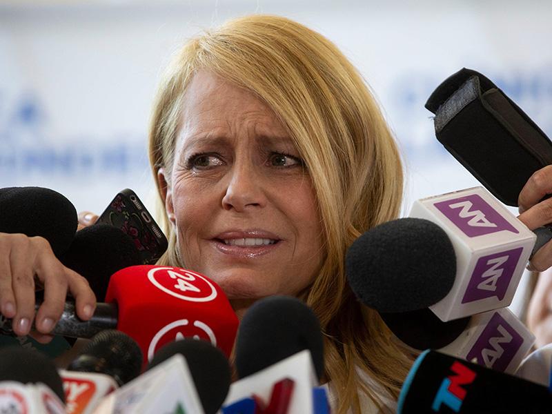 Cecilia Bolocco, durísima con Carlos Menem tras la operación de Máximo