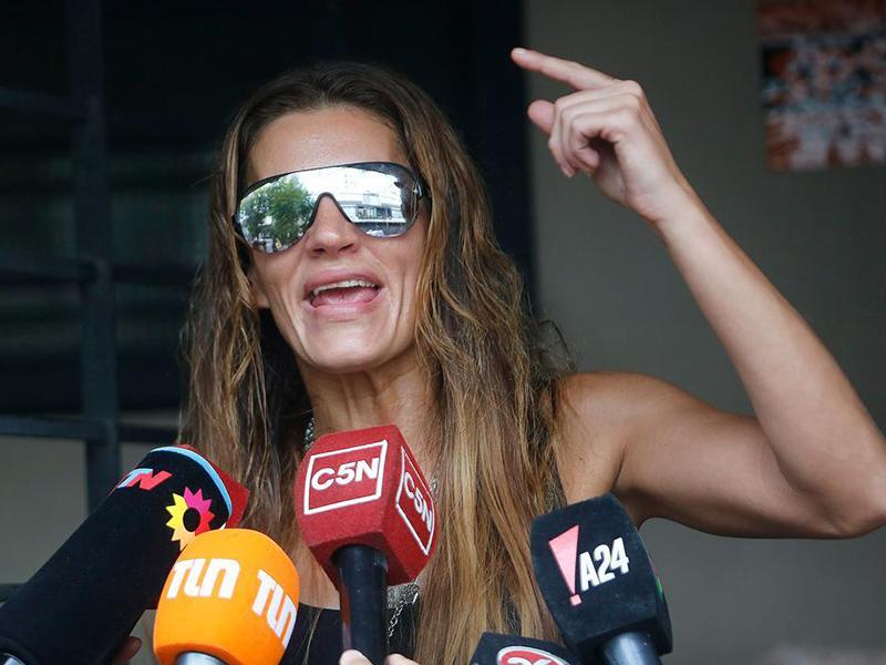 Detienen a modelo argentina Natacha Jaitt