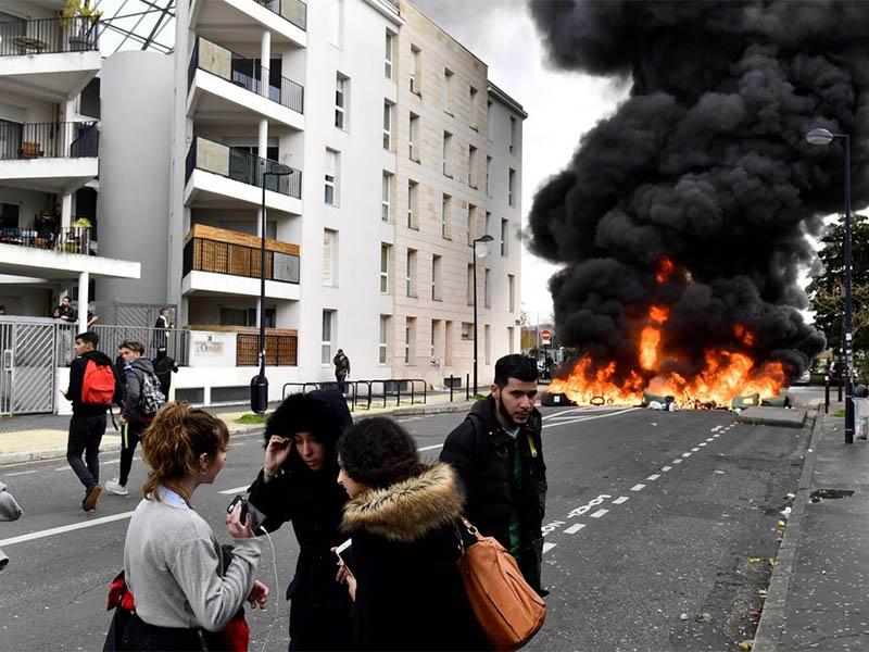"""Amenazas de nuevas protestas en Francia"""""""