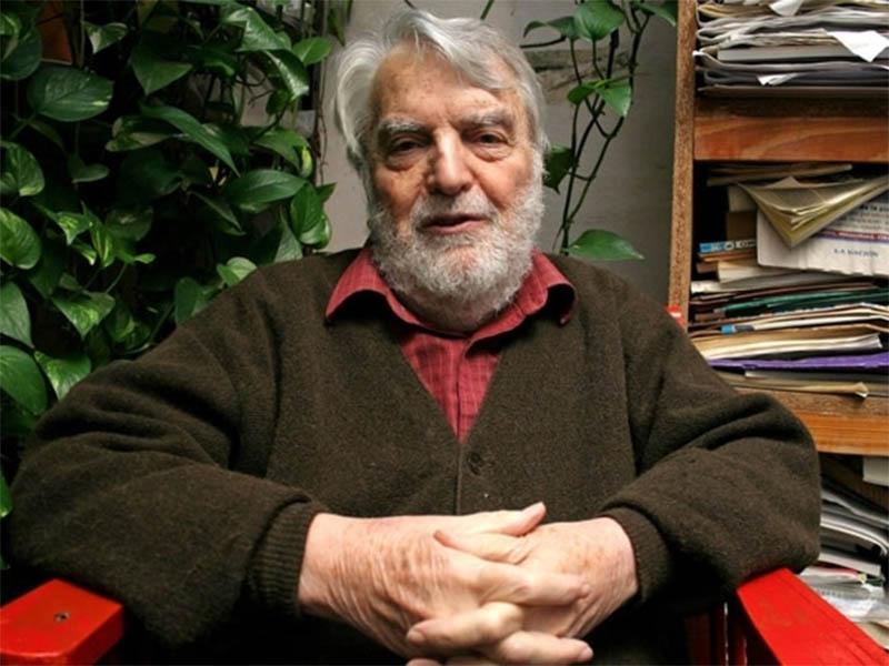 Murió a los 91 años el escritor Osvaldo Bayer