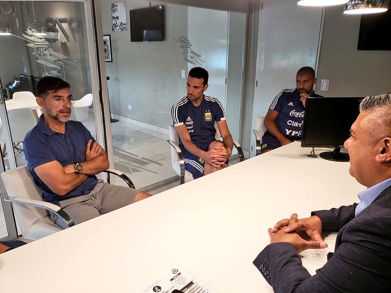 El Ratón Ayala se suma al cuerpo técnico de Scaloni — Selección argentina
