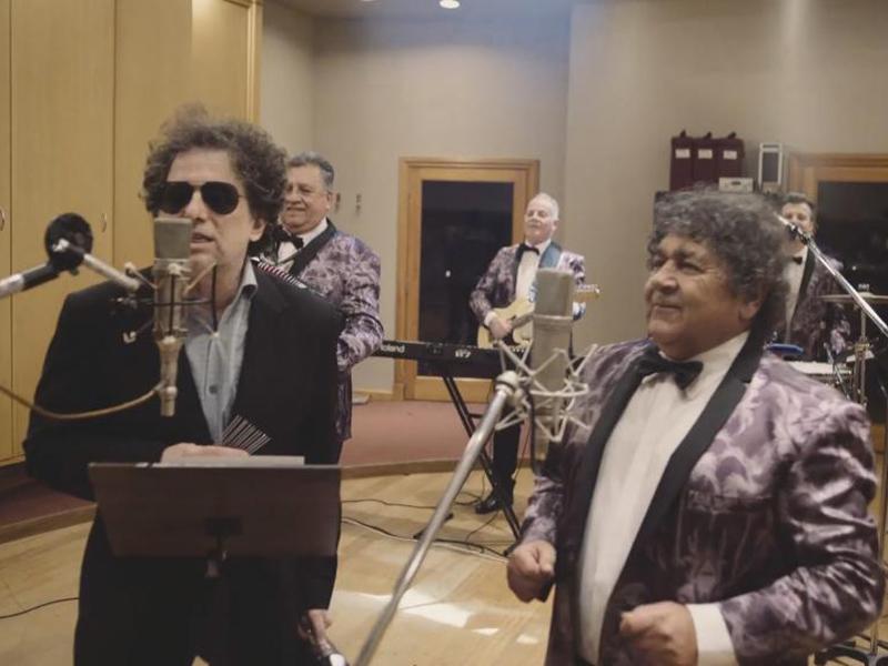 Se filtra el video que Andrés Calamaro grabó con Los Palmeras