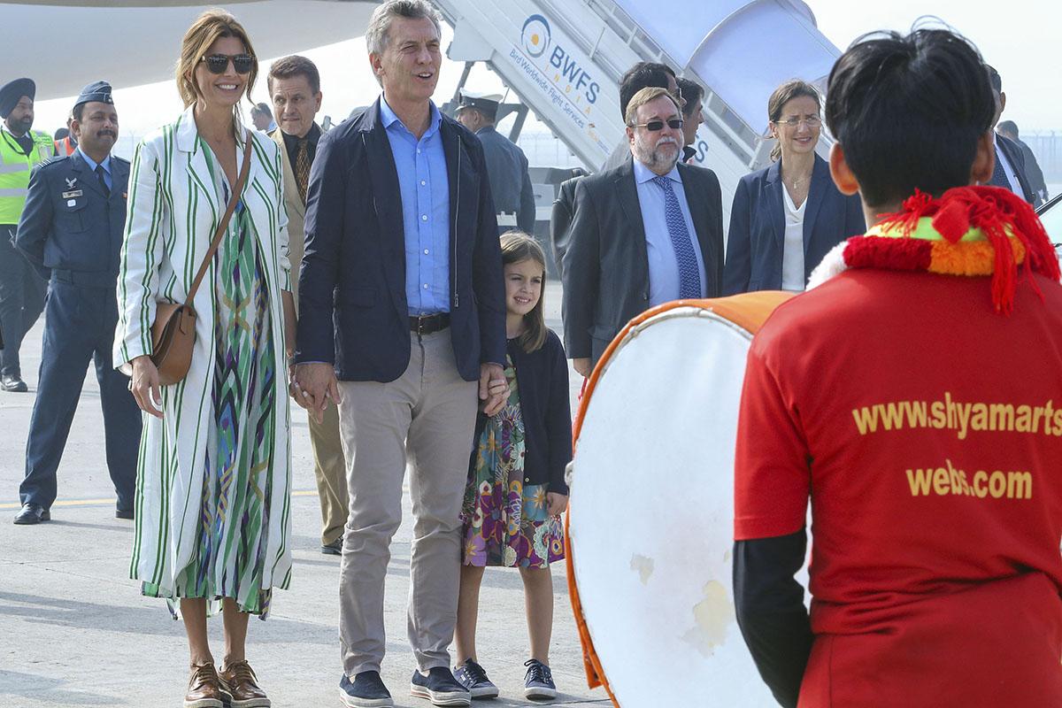 Macri comienza en Nueva Dehli su visita de Estado a la India