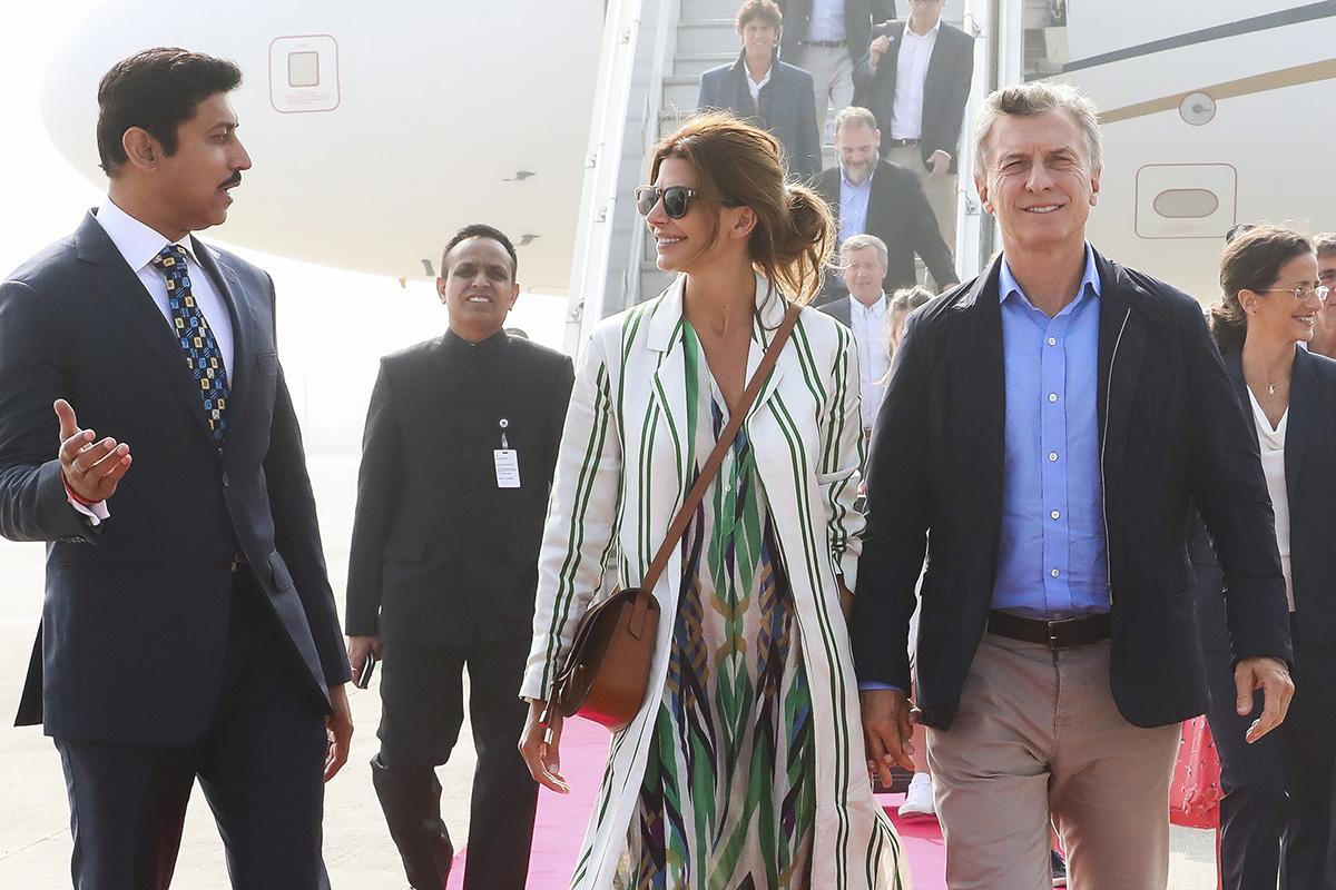 Macri pisó suelo asiático para vender productos argentinos