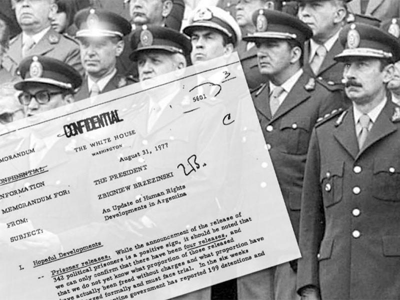 Entregará al país más documentos desclasificados de la dictadura