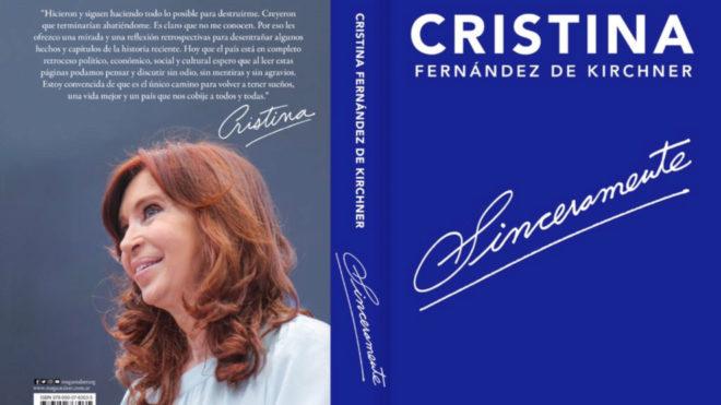 Cristina Fernández publica su libro,
