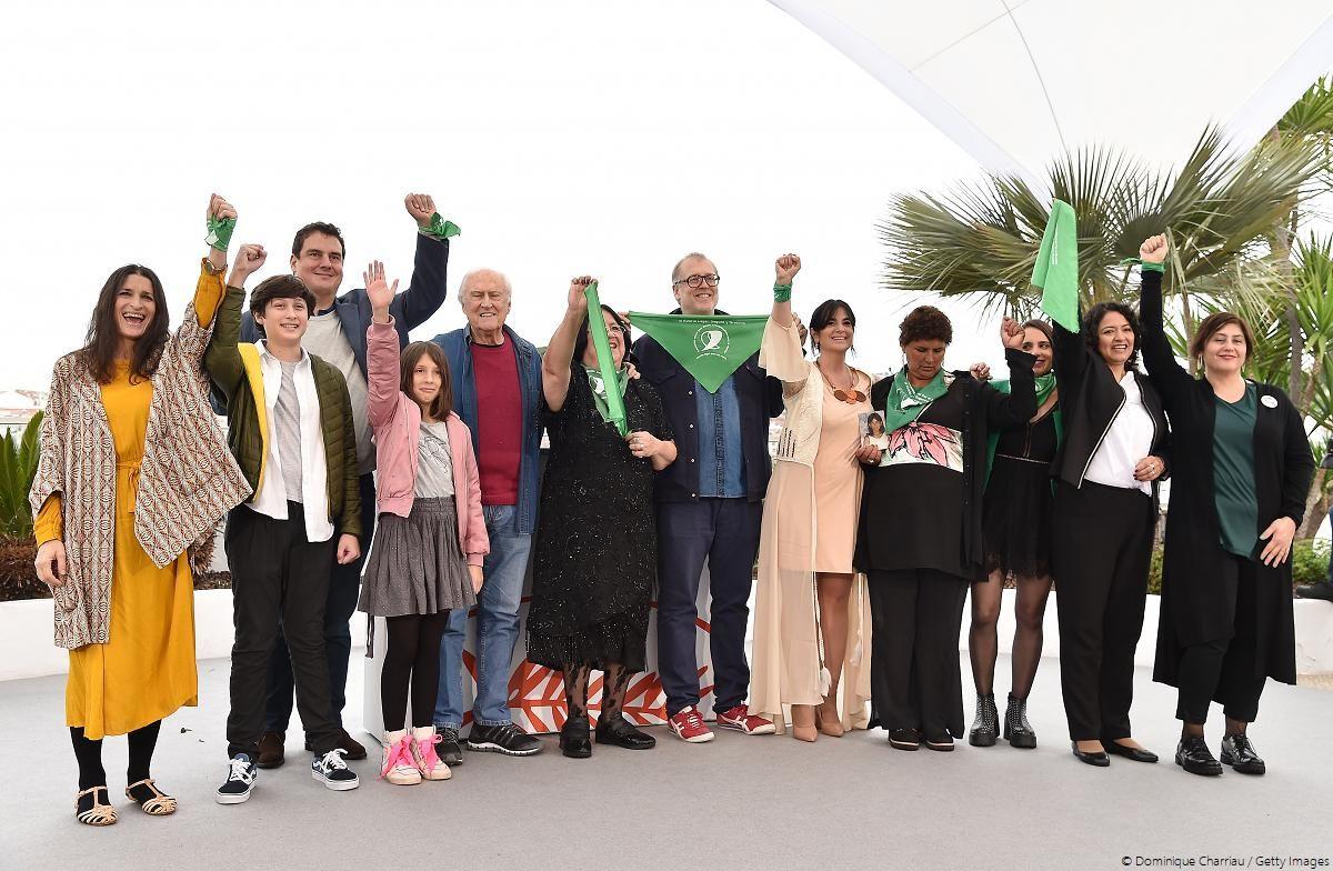 Festival de Cannes 2019: protestan a favor del aborto en alfombra roja