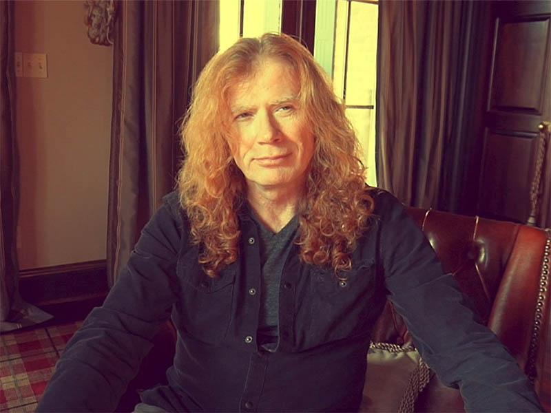Dave Mustaine de Megadeth dice que tiene cáncer de garganta