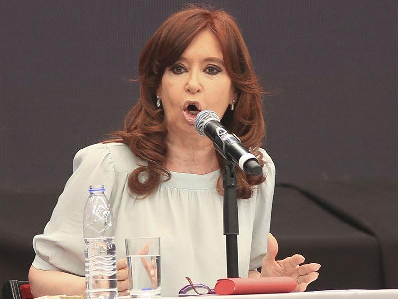 Cristina Fernández presenta su libro en Santiago del Estero