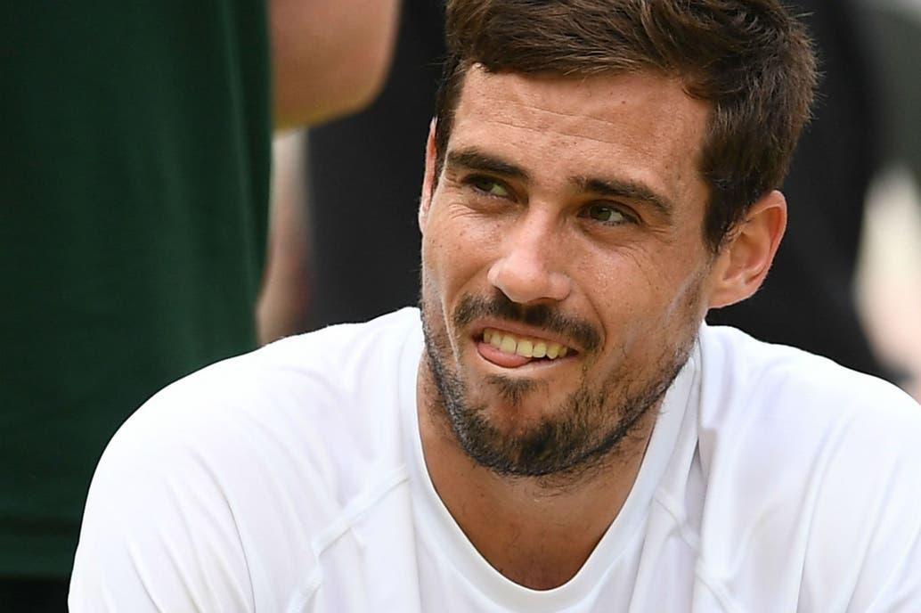 El llanto de Guido Pella tras su hazaña en Wimbledon