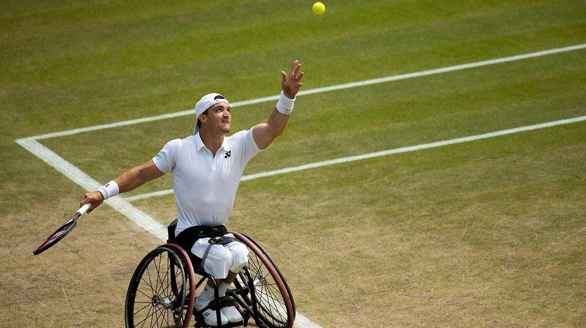 Gustavo Fernández se metió en las semifinales de Wimbledon