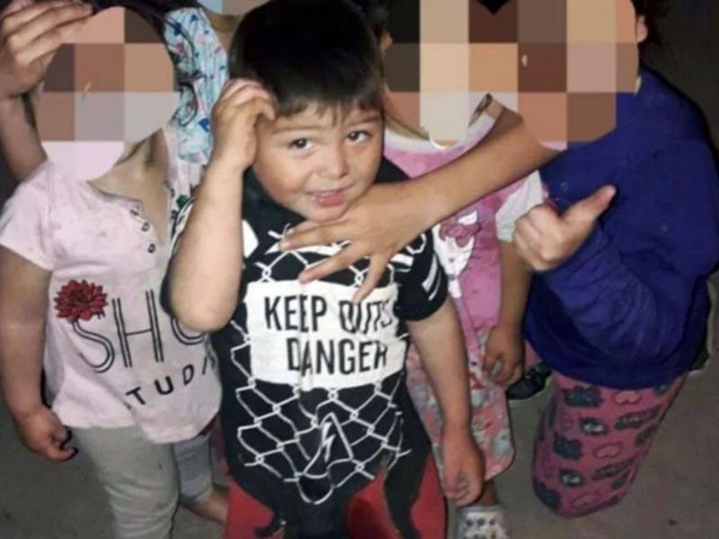 Manifestación en El Colmenar por la muerte del nene de cuatro años