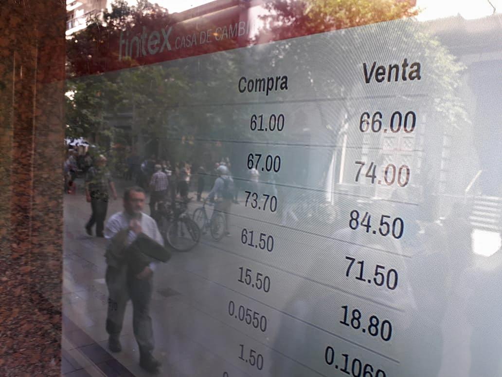Las reservas del Banco Central cayeron hoy U$S1.755 millones