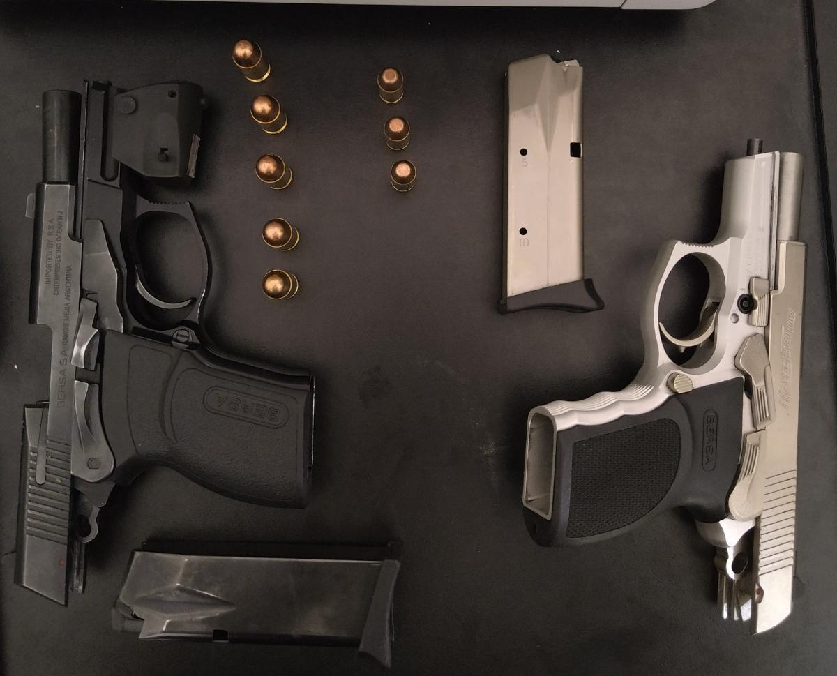 Empalme Graneros: detienen a trío con dos pistolas de alto poder - El Ciudadano & La Gente