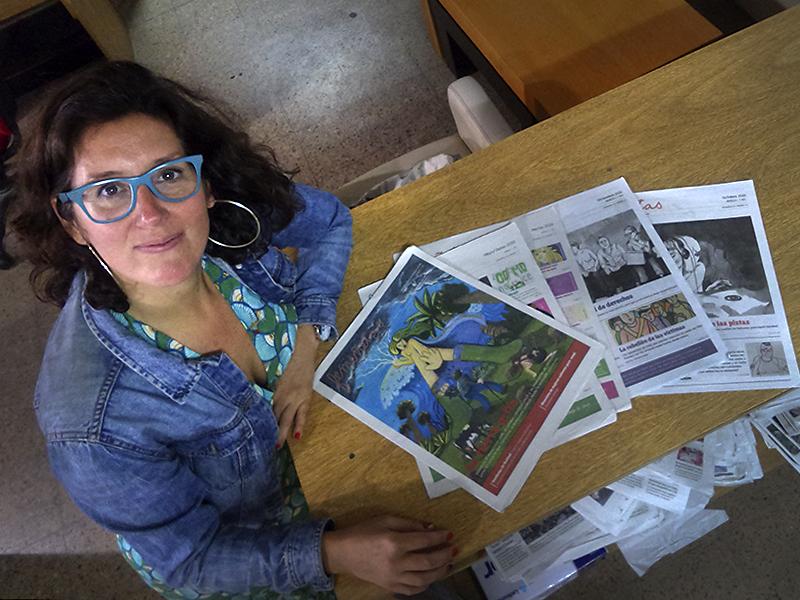 Femiñetas, el periódico de comic feminista que une Rosario y Barcelona - El Ciudadano & La Gente