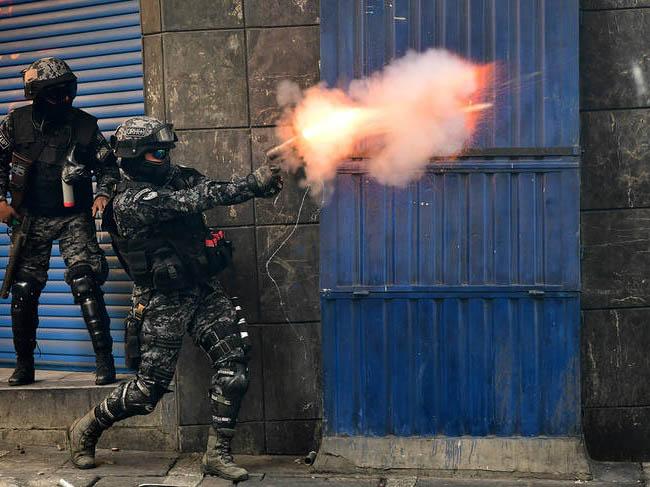 Matan al menos a cuatro cocacoleros durante manifestación — Represión en Bolivia