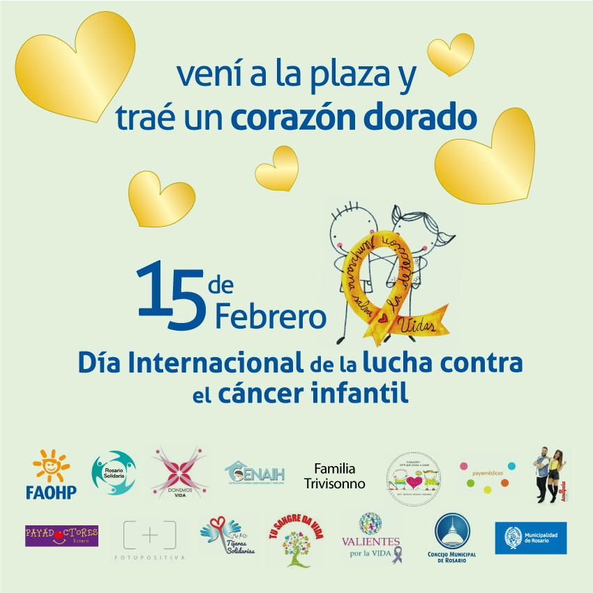 Hoy se conmemora el Día Internacional del Cáncer Infantil