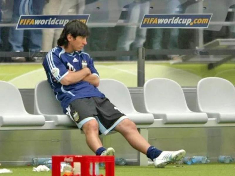 Por qué no entró ante Alemania Messi en el Mundial