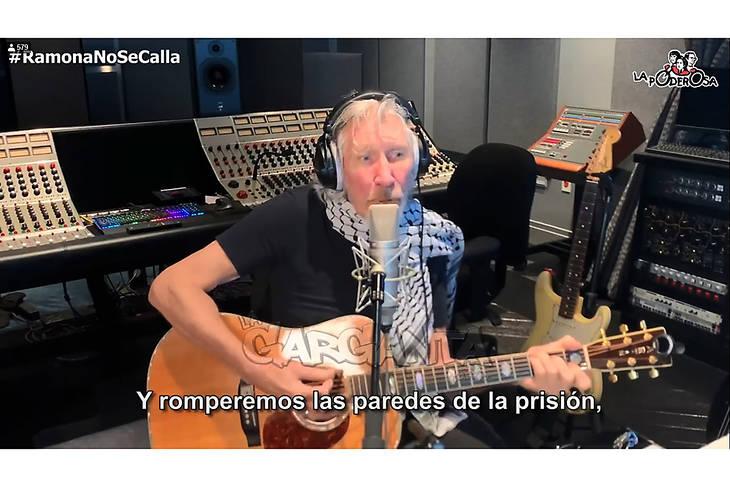 El sentido mensaje de Roger Waters sobre la muerte de Ramona Medina