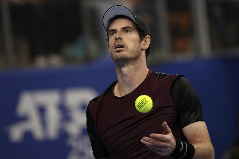 Andy Murray es optimista pese a derrota ante Daniel Evans