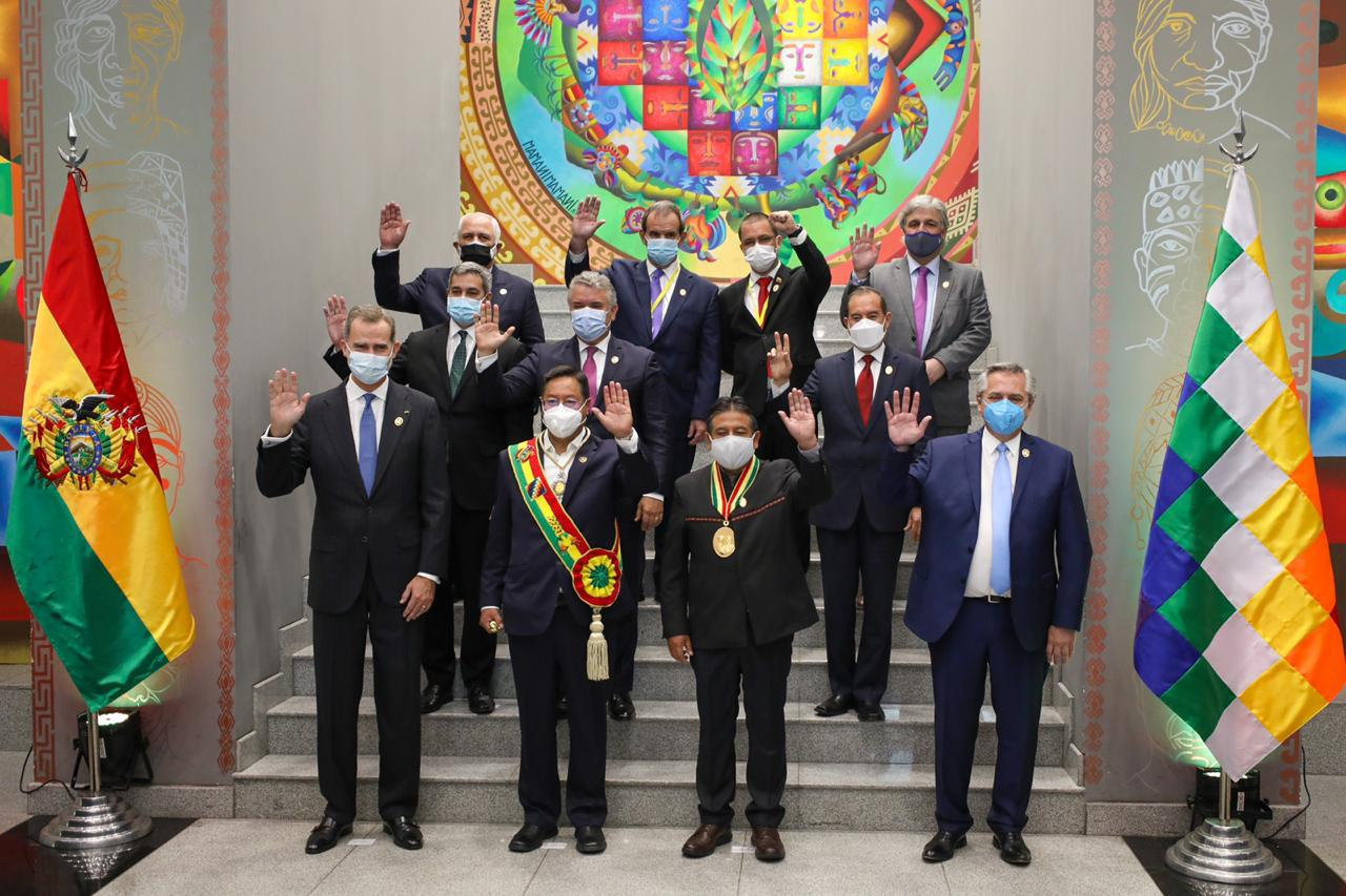 """Alberto Fernández en la asunción de Arce: """"Es un día muy importante, Bolivia recupera la democracia"""" – Diario El Ciudadano y la Región"""